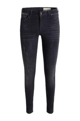 Esprit jean stretch noir rivets d coratifs acheter - La ligne noire jean christophe grange ...