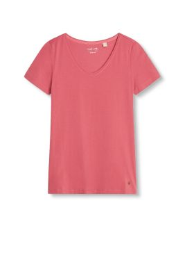esprit basic stretch cotton t shirt at our online shop. Black Bedroom Furniture Sets. Home Design Ideas
