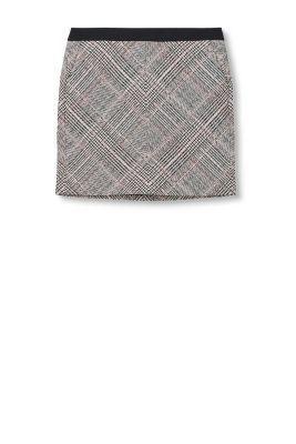 esprit karierter minirock mit taschen im online shop kaufen. Black Bedroom Furniture Sets. Home Design Ideas
