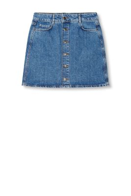 esprit minijupe en jean 100 coton acheter sur la boutique en ligne. Black Bedroom Furniture Sets. Home Design Ideas