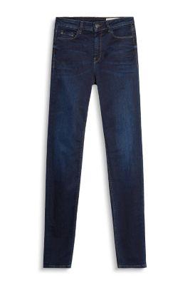esprit high waisted shaping jeans at our online shop. Black Bedroom Furniture Sets. Home Design Ideas