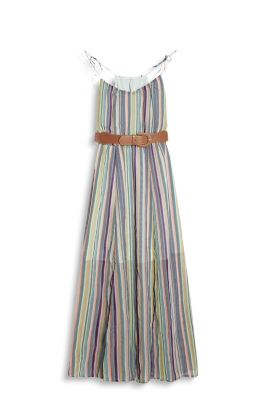 edc chiffon maxi dress with belt at our shop