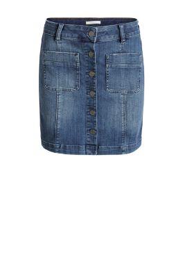 esprit stretch denim mini skirt at our shop