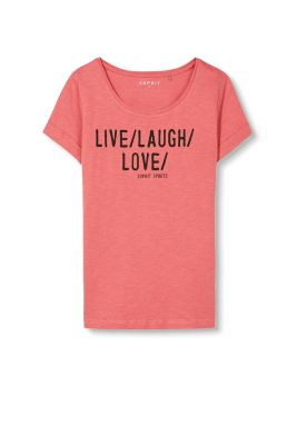esprit statement sports t shirt 100 cotton at our online shop. Black Bedroom Furniture Sets. Home Design Ideas