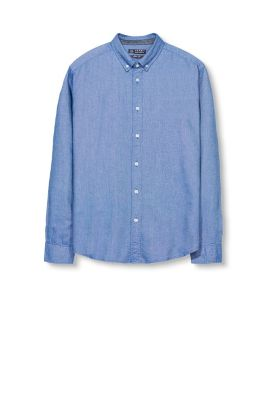 esprit chemise en flanelle bicolore 100 coton. Black Bedroom Furniture Sets. Home Design Ideas