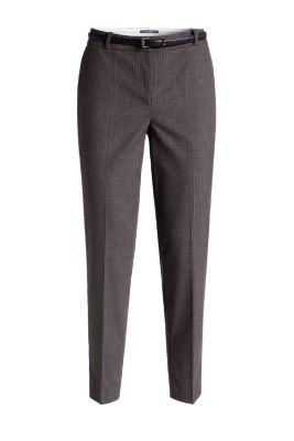 Esprit pantalon carreaux ceintur acheter sur la for Pantalon a carreaux