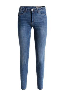 esprit jean stretch zipp au bas des jambes acheter sur la boutique en ligne. Black Bedroom Furniture Sets. Home Design Ideas