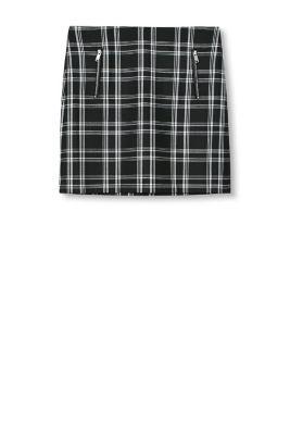 esprit stretchrock mit zipper taschen im online shop kaufen. Black Bedroom Furniture Sets. Home Design Ideas