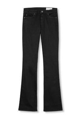 Esprit jean noir fonc en coton stretch acheter sur la - La ligne noire jean christophe grange ...