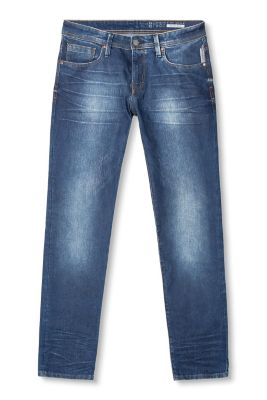 My current jeans list the fabric as 96% cotton, 3% elastine, 1% poly, and they're okay, but I kind of like the thick, solid, almost constricting feel of non-stretch denim. Do they make decent women's jeans without stretch anymore?
