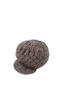 Edc   grofgebreide pofpet met wol kopen in de online shop