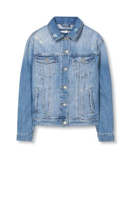 esprit veste en jean effet us 100 coton acheter sur la boutique en ligne. Black Bedroom Furniture Sets. Home Design Ideas