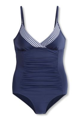 Esprit - Padded, body shaping swimsuit at our Online Shop