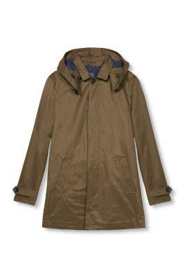 esprit manteau coton m lang capuche amovible acheter sur la boutique en ligne. Black Bedroom Furniture Sets. Home Design Ideas