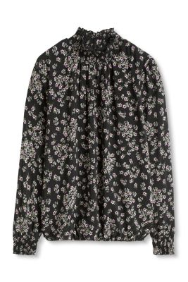 esprit bluse mit hohem kragen im online shop kaufen. Black Bedroom Furniture Sets. Home Design Ideas
