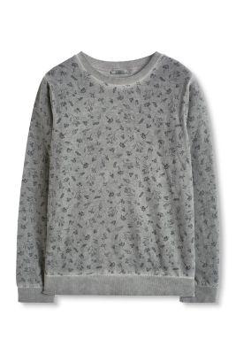 Edc   sweatshirt met bloemenprint kopen in de online shop