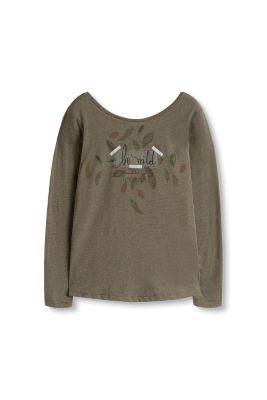 edc shirt mit sch nem r ckenausschnitt im online shop kaufen. Black Bedroom Furniture Sets. Home Design Ideas