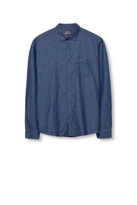 esprit chemise en jean textur e 100 coton acheter sur la boutique en ligne. Black Bedroom Furniture Sets. Home Design Ideas