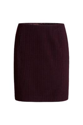 esprit stretch jacquard pencil skirt at our shop