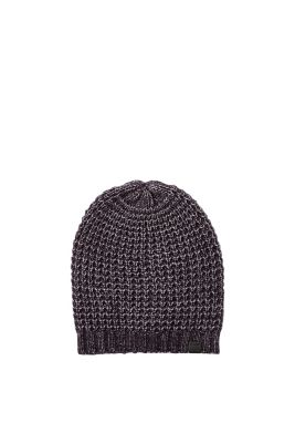 edc - Soft fishermans rib knit beanie at our Online Shop