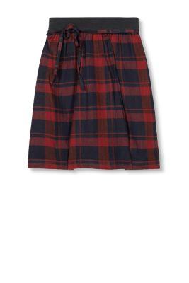 esprit jupe flanelle taille lastique coton m lang acheter sur la boutique en ligne. Black Bedroom Furniture Sets. Home Design Ideas