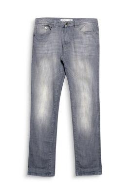 esprit graue 5 pocket jeans aus stretch denim im online. Black Bedroom Furniture Sets. Home Design Ideas
