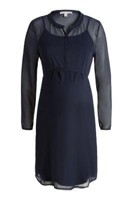 esprit robe en mousseline fond de robe acheter sur. Black Bedroom Furniture Sets. Home Design Ideas