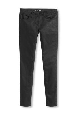 Esprit jean stretch noir effets scintillants acheter - Jean christophe grange la ligne noire ...
