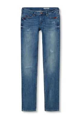 Edc  Vintage Embroidered Stretch Jeans At Our Online Shop