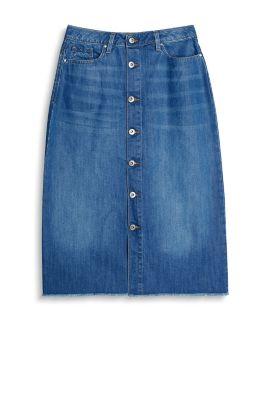 edc midi jeans rock 100 baumwolle im online shop kaufen. Black Bedroom Furniture Sets. Home Design Ideas