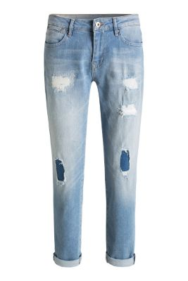 edc boyfriend jeans im destroyed look im online shop kaufen. Black Bedroom Furniture Sets. Home Design Ideas