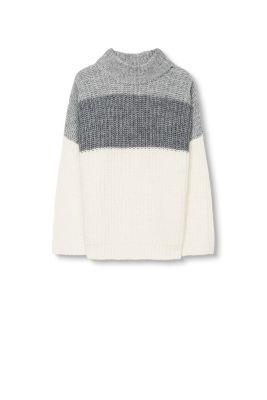 Edc pull grosse maille en laine et alpaga acheter sur la boutique en ligne - Laine grosse maille ...
