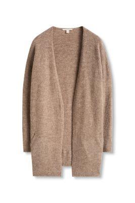 Esprit   open vest met wol en mohair kopen in de online shop