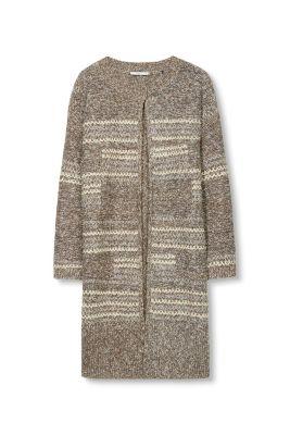 edc grobstrick cardigan baumwoll mix im online shop kaufen. Black Bedroom Furniture Sets. Home Design Ideas