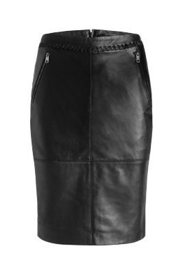 esprit pencil skirt in butter soft leather at our
