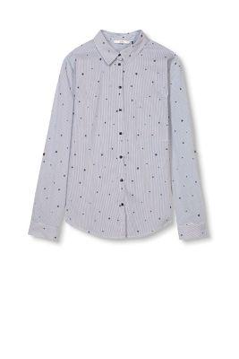 edc turn up bluse mit sternen print im online shop kaufen. Black Bedroom Furniture Sets. Home Design Ideas