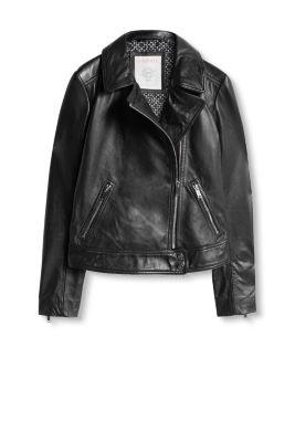 esprit veste motard en doux cuir de mouton acheter sur la boutique en ligne. Black Bedroom Furniture Sets. Home Design Ideas