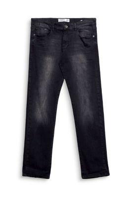 Esprit jean basique stretch 5 poches denim noir - La ligne noire jean christophe grange ...