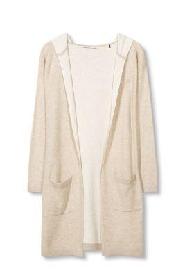 edc lang vest met capuchon kopen in de online shop. Black Bedroom Furniture Sets. Home Design Ideas