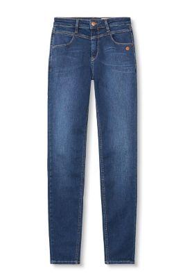 esprit blue denim jeans with shaping effect at our online shop. Black Bedroom Furniture Sets. Home Design Ideas