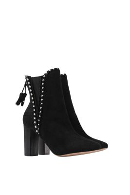 esprit ankle boots in soft suede at our shop