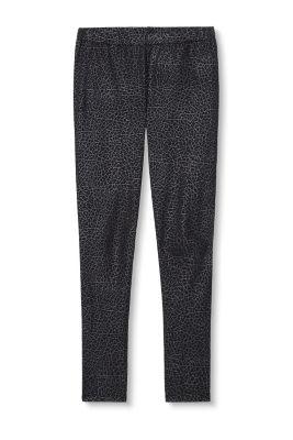 esprit stretch leggings mit moir effekt im online shop kaufen. Black Bedroom Furniture Sets. Home Design Ideas