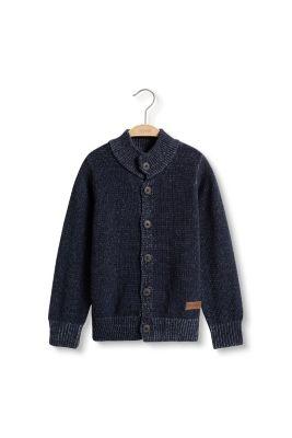 esprit grobstrick cardigan 100 baumwolle im online shop kaufen. Black Bedroom Furniture Sets. Home Design Ideas